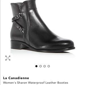 La Canadienne Sharon Waterproof Leather Booties